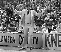 Golden State Warrior coach Al Attles looking dapper.<br />