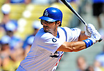 24 July 2011: Los Angeles Dodgers outfielder Andre Ethier in action against the Washington Nationals at Dodger Stadium in Los Angeles, California. The Dodgers defeated the Nationals 3-1 to take the rubber match of their three game series. Mandatory Credit: Ed Wolfstein Photo