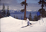 Telemark ski race at Homewood
