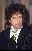 Jan 1990: BOB DYLAN - Commandeur des Arts et des Lettres - Paris France