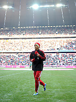 FUSSBALL   1. BUNDESLIGA  SAISON 2011/2012   21. Spieltag FC Bayern Muenchen - 1. FC Kaiserslautern       11.02.2012 Takashi Usami  (FC Bayern Muenchen)