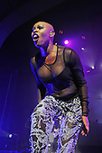 SKUNK ANANSIE - vocalist Skin - performing live at the Academy Brixton in London UK - 04 Feb 2017.  Photo credit: Zaine Lewis/IconicPix