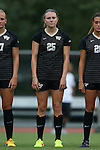 04 September 2015: Wake Forest's Ally Haran. The Wake Forest University Demon Deacons played the William & Mary University Tribe at Dail Soccer Field in Raleigh, NC in a 2015 NCAA Division I Women's Soccer game. The game ended in a 1-1 tie.