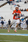 CHAPEL HILL, NC - APRIL 28: Tyler German #12 of the Virginia Cavaliers playing the North Carolina Tar Heels on April 28, 2013 at Kenan Stadium in Chapel Hill, North Carolina. North Carolina won the ACC Championship with a 16-13 win. (Photo by Peyton Williams/Getty Images) *** Local Caption *** Tyler German