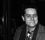 Jonathan Demme attends a performance of 'Crimes of the Heart' at the Golden Theatre on November  1, 1981 in New York City.
