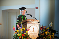 Marga Sproul. Commencement, class of 2013.