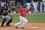 Ole Miss' Tanner Mathis (12)  vs. Wright State at Oxford University Stadium in Oxford, Miss. on Sunday, February 20, 2011. Ole Miss won 6-5 to improve to 3-0 on the season.