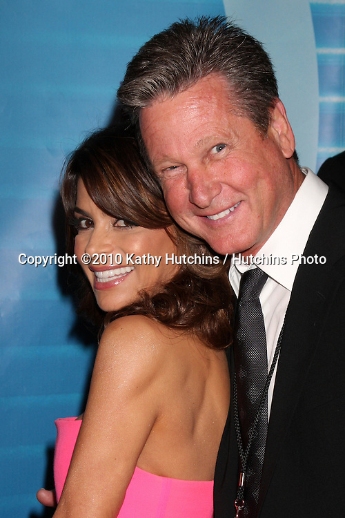 Paula Abdul & Jeff Ballard.arrives at the American Idol Season 9 Finale.Nokia Theater.Los Angeles, CA.May 26, 2010.©2010 Kathy Hutchins / Hutchins Photo..