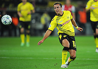 FUSSBALL   CHAMPIONS LEAGUE   SAISON 2011/2012  Borussia Dortmund - Arsenal London        13.09.2001 Mario GOETZE (Borussia Dortmund) Einzelaktion am Ball