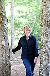 Top selling author Karin Slaughter does all her writing in a cabin in Epworth, Georgia. Her father Howard built the 2,400 square foot cabin for her. .CREDIT: Kendrick Brinson/LUCEO.KarinSlaughter