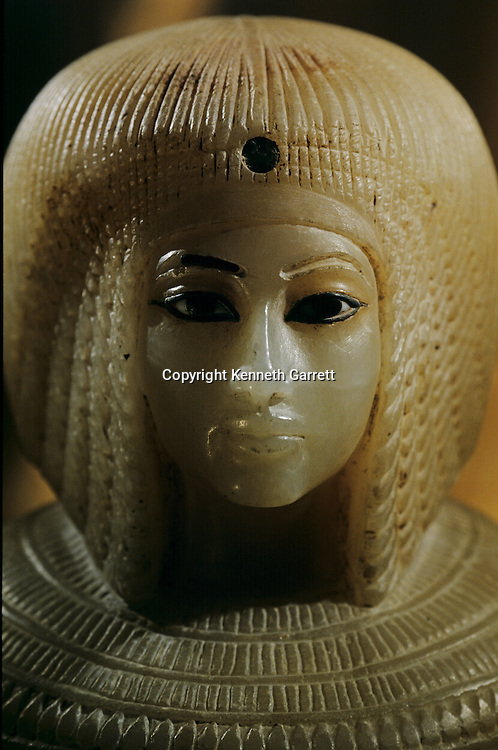 Queen Kiya; Canopic Jar, Tutankhamun and the Golden Age of the Pharaohs, Page 43