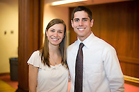 White Coat Ceremony, class of 2015. Michelle VanHorne, Tyler Van Backer.