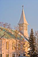 Immaculate Conception catholic church, downtown, Fairbanks, Alaska