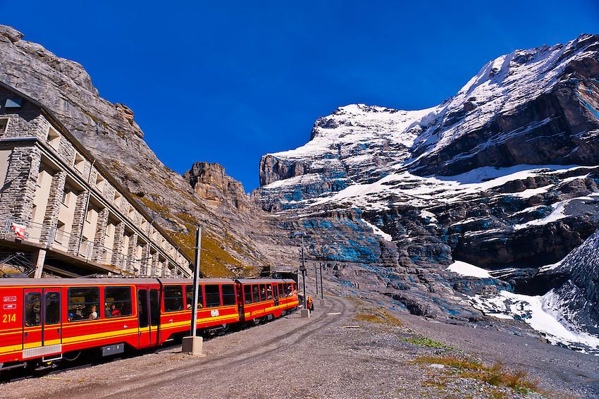 фото железная дорога в альпах