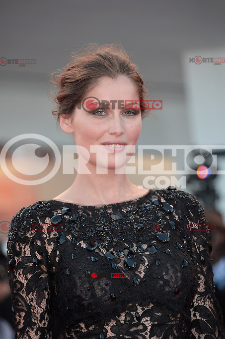 VENICE, ITALY - AUGUST 29: Actress Laetitia Casta attends 'The Reluctant Fundamentalist' Premiere and Opening Ceremony of the 69th Venice International Film Festival at Palazzo del Cinema on August 29, 2012 in Venice, Italy /NortePhoto.com<br />