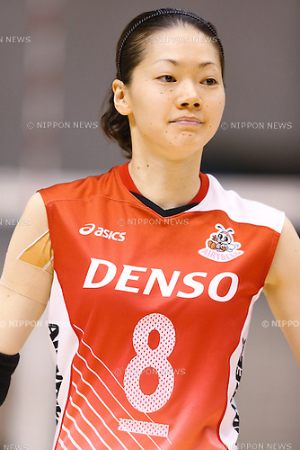 Kaori Inoue (Airybees), DECEMBER 12 , 2013 - Volleyball : 2013 Emperor's Cup and Empress's Cup All Japan Volleyball Championship women's match between JT Marvelous 3-2 Denso Airybees at Tokyo Metropolitan Gymnasium, Tokyo, Japan.
