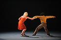 London, UK. 03.11.2015. Rambert presents the London Premiere of Kim Brandstrup's TRANSFIGURED NIGHT at Sadler's Wells. Picture shows: Simone Damberg Wurtz, Miguel Altanuga. Photograph © Jane Hobson.