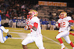 Lafayette High D.K. Buford (2) vs. Senatobia High in Senatobia, Miss. on Friday, October 21, 2011. Lafayette High won.