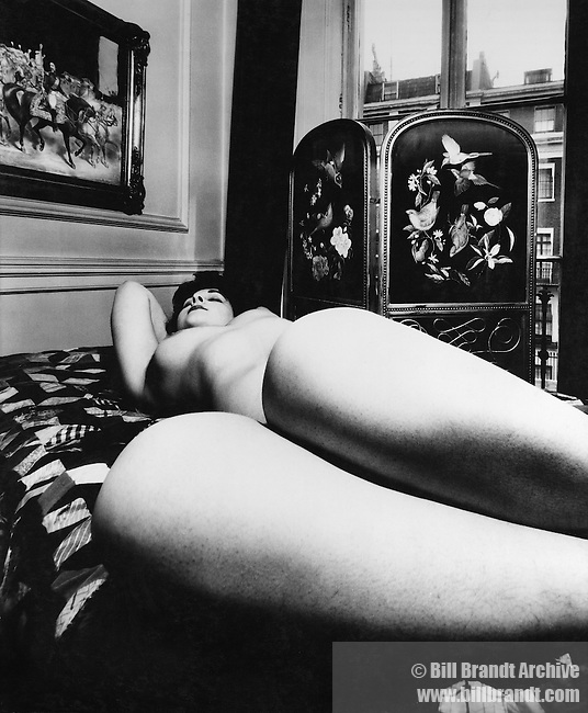 Nude,  Campden Hill,London,1955 April.