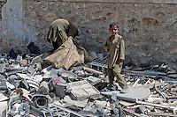 Afghan street kids