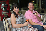 ISPS Handa Wales Open 2012.Terry M's Restaurant Opening.Nichola & Simon Page.01.06.12.©Steve Pope