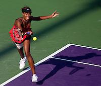 Venus WILLIAMS (USA) against Daniela HANTUCHOVA (SVK) in the third round of the women's singles. Venus Williams beat Daniela Hantuchova 1-6 7-5 6-4..International Tennis - 2010 ATP World Tour - Sony Ericsson Open - Crandon Park Tennis Center - Key Biscayne - Miami - Florida - USA - Mon 29th Mar 2010..© Frey - Amn Images, Level 1, Barry House, 20-22 Worple Road, London, SW19 4DH, UK .Tel - +44 20 8947 0100.Fax -+44 20 8947 0117