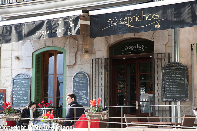 So Caprichos Restaurant in Port de Soller, Majorca, Spain