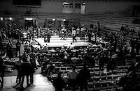 Roma  .Incontro  di boxe dilettanti al Palazetto dello Sport.