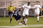 11 November 2005: . Duke University defeated the University of Maryland 4-2 at SAS Stadium in Cary, North Carolina in a semifinal of the 2005 ACC Men's Soccer Championship.