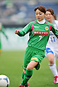 Natsuko Hara (Beleza), .APRIL 22, 2012 - Football/Soccer : 2012 Plenus Nadeshiko League,2nd sec match between NTV Beleza 3-0 AS Elfen Sayama FC at Komazawa Olympic Park Stadium, Tokyo, Japan. (Photo by Jun Tsukida/AFLO SPORT) [0003]