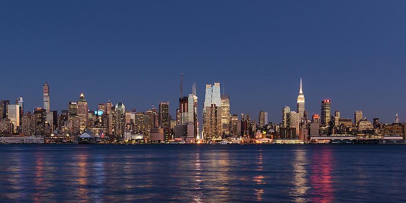 Midtown Manhattan<br /> From Weehawken, New Jersey