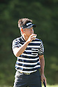 Hiroyuki Fujita (JPN),.JUNE 15, 2012 - Golf :.Hiroyuki Fujita of Japan acknowledges the gallery during the second round of the 2012 U.S. Open golf tournament at Lake Course of The Olympic Club in San Francisco, California, United States. (Photo by Thomas Anderson/AFLO) (JAPANESE NEWSPAPER OUT)