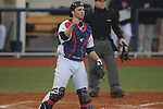 Ole Miss catcher Stuart Turner (26) vs. Arkansas-Pine Bluff at Oxford-University Stadium in Oxford, Miss. on Wednesday, February 27, 2013.