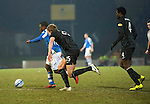 St Johnstone v Celtic.....19.02.13      SPL.Nigel Hasselbaink scores for St Johnstone to make it 1-1.Picture by Graeme Hart..Copyright Perthshire Picture Agency.Tel: 01738 623350  Mobile: 07990 594431