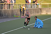 International women's hockey test match between New Zealand Black Sticks and India at National Hockey Stadium, Wellington, New Zealand on Friday, 14 December 2012<br />