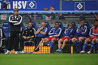 FUSSBALL   1. BUNDESLIGA   SAISON 2011/2012    6. SPIELTAG Hamburger SV - Borussia Moenchengladbach            17.09.2011 Trainer Michael OENNING (Hamburg) ist enttaeuscht