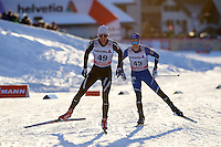 links KINDSCHI Linard (SUI), rechts VEERPALU Andreas (EST)