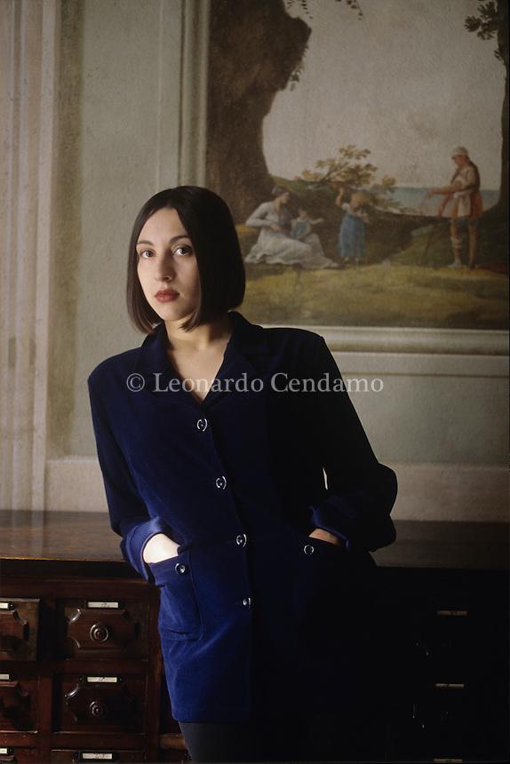 Simona Vinci © Leonardo Cendamo