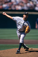 SAN FRANCISCO, CA:  Jose Lima of the Houston Astros in action during a game against the San Francisco Giants at Candlestick Park in San Francisco, California in 1999. (Photo by Brad Mangin)