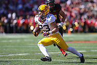College Park, MD - October 15, 2016: Minnesota Golden Gophers running back Shannon Brooks (23) runs the ball during game between Minnesota and Maryland at  Capital One Field at Maryland Stadium in College Park, MD.  (Photo by Elliott Brown/Media Images International)