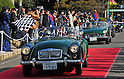 November 27, 2011, Tokyo, Japan - .during the fifth Classic Car Festa 2011 in Tokyo on Sunday, November 27, 2011. Some 43,000 spectators watch about 100 domestic and foreign classic and vintage cars parade the gingko-lined streets of the Meiji Shrines Outer Garden in the annual open-air exhibition and parade sponsored by Toyota Automobile Museum. (Photo by Natsuki Sakai/AFLO) [3615] -mis-.