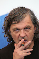 VENICE, ITALY - SEPTEMBER 09: Director Emir Kusturica attends a photocall for 'On The Milky Road' during the 73rd Venice Film Festival at Palazzo del Casino on September 9, 2016 in Venice, Italy. <br /> CAP/GOL<br /> &copy;GOL/Capital Pictures /MediaPunch ***NORTH AND SOUTH AMERICAS ONLY***