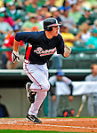 17 March 2009: Atlanta Braves' infielder Freddie Freeman in action during a Spring Training game against the New York Mets at Disney's Wide World of Sports in Orlando, Florida. The Braves defeated the Mets 5-1 in the Saint Patrick's Day Grapefruit League matchup. Mandatory Photo Credit: Ed Wolfstein Photo