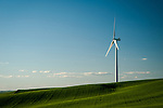Wind turbine in the Palouse Valley