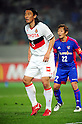 Takahiro Masukawa (Grampus), Naotake Hanyu (FC Tokyo),.MARCH 17, 2012 - Football / Soccer :.2012 J.League Division 1 match between F.C.Tokyo 3-2 Nagoya Grampus Eight at Ajinomoto Stadium in Tokyo, Japan. (Photo by AFLO)
