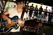 Sondre Lerche plays at the Flamingo Cantina in Austin, Texas during the 2011 SXSW Music Festival.