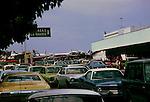 Caracas airport,Venezuela, Caribbean. 1976