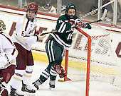 Patrick Wey (BC - 6), Tyler Sikura (Dartmouth - 16) - The Boston College Eagles defeated the visiting Dartmouth College Big Green 6-3 (EN) on Saturday, November 24, 2012, at Kelley Rink in Conte Forum in Chestnut Hill, Massachusetts.