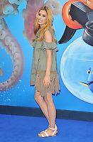 Stacey Solomon at the &quot;Finding Dory&quot; UK film premiere, Odeon Leicester Square cinema, Leicester Square, London, England, UK, on Sunday 10 July 2016.<br /> CAP/CAN<br /> &copy;CAN/Capital Pictures ***USA and South America Only**