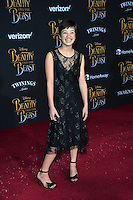 Peyton Elizabeth Lee at the premiere for Disney's &quot;Beauty and the Beast&quot; at El Capitan Theatre, Hollywood. Los Angeles, USA 02 March  2017<br /> Picture: Paul Smith/Featureflash/SilverHub 0208 004 5359 sales@silverhubmedia.com